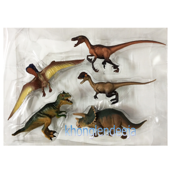 Khonglendee Century of the Dragon ไดโนเสาร์ กล่อง 5 ตัว