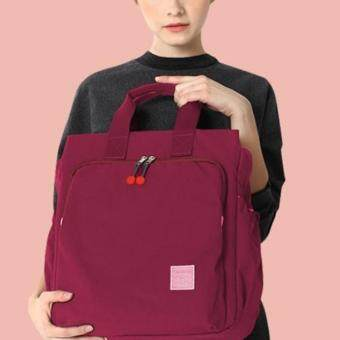 Dream Baby กระเป๋าใส่สัมภาระคุณแม่และลูกน้อยสีแดง