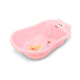 BabaMama อ่างอาบน้ำสำหรับเด็ก ขนาดกลาง รุ่น 005 สีชมพู