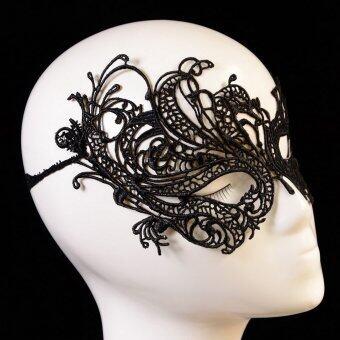 Comebuy88 หน้ากากเวนิสหน้ากากตาเซ็กซี่ผ้าลูกไม้ชุดฮัลโลวีนปาร์ตี้ชุดแฟนซี-