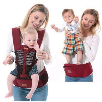 Morestech เป้อุ้มเด็ก Hip Seat 2 in 1 สีแดง