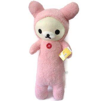 Korilakkuma ตุ๊กตา หมอนข้าง โคริลัคคูมะ แรบบิท ขนาด 75 ซม.( สีชมพู )