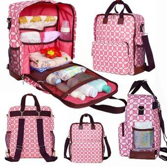 Harga Large-capacity Baby Diaper Nappy Changing Bag Multifunction Shoulder Mummy Bags Tote Backpack