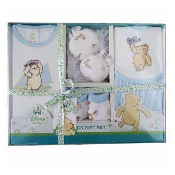 Baby Home Disney Gift Set ชุดของขวัญ เด็กแรกเกิด 5 ชิ้น (สีฟ้า)
