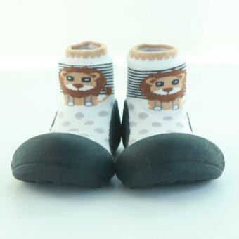 Attipas รองเท้าหัดเดิน รุ่น Zoo สี Black Size M