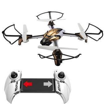Drone ติดกล้องความละเอียดสูง WIFI พร้อมระบบถ่ายทอดสดแบบ Realtime(NEW มีระบบ ล็อกความสูงได้)+มีปุ่มปรับกล้องขนะบินได้