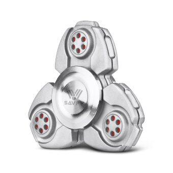 Savfy Tri เครื่องปั่นมือ Fidget Spinner ของเล่น EDC Kirsite ความเร็วสูงช่วยลดความเครียดและความวิตกกังวล