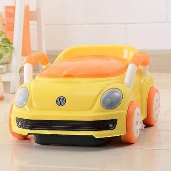 กระโถนนั่งเด็ก-รถสีเหลือง