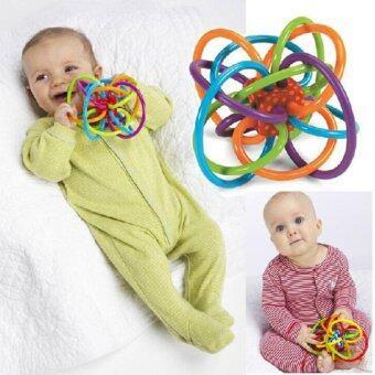 สินค้ายอดนิยม Nanarak ยางกัดพร้อมของเล่นเขย่าแบบมีเสียง Manhattan Toy Winkel รีวิว