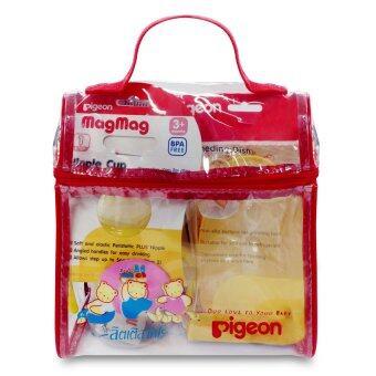 PIGEON พีเจ้น ชุดของขวัญในกระเป๋าโคโร่ - สีแดง