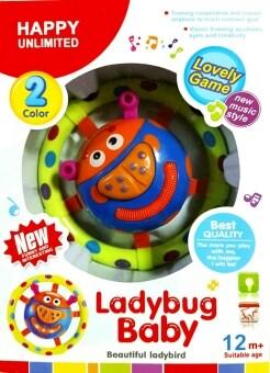 T.P.TOYS เต่าทองของเล่นมีเสียงมีไฟ Ladybug Baby