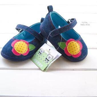 ((พื้นยางกันลื่น/น้ำหนักเบา)) รองเท้าเด็กวัยหัดเดิน รองเท้าเด็กผู้หญิงสีสันสดใส Size150
