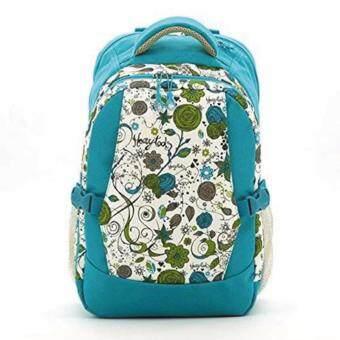 กระเป๋าเป้สะพายหลังสำหรับคุณแม่ กระเป๋าใส่ผ้าอ้อม ขวดนม ของใช้เด็ก กันน้ำ รุ่น DN083 (สีฟ้า)