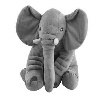 โอ้เด็ก ๆ สัตว์สตัฟฟ์รองนอนหมอนนุ่มตุ๊กตาน่ารักช้าง 33 x 40ซม.