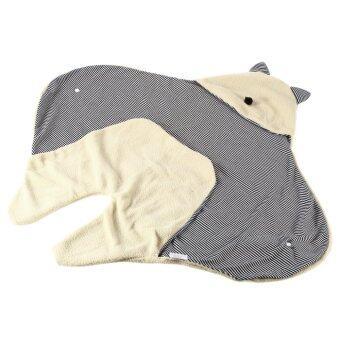 โอ้เด็กน้อยน่ารักผ้าห่มนอนห่อพัน Sleepsacks ถุงนอนสีเบจ