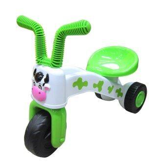 DIO TOYS รถขาไถ สามล้อ หน้าวัว (สีเขียว)