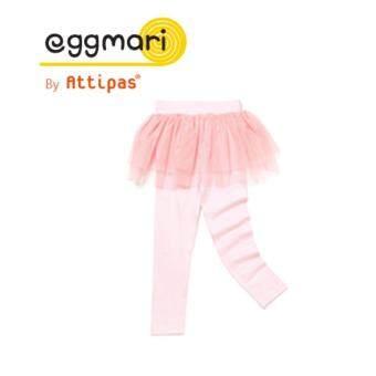Eggmari กางเกงเลคกิ้งเด็ก รุ่น Corsage สี Pink