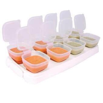 กล่องบรรจุอาหารบด 2 ออนซ์ สำหรับเด็กbabycupsแช่แข็งไมโครเวฟได้
