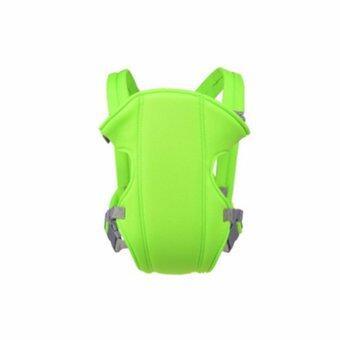 สีเขียว 3 ใน 1 มัลติฟังก์ชั่ ระบายอากาศได้ ไหล่คู่ Baby Carrier ผู้ให้บริการทารก เอว เข็มขัด