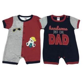LITTLE BABY M เสื้อผ้ าเด็กเล็ก ชุดหมีแพ็คคู่ R26
