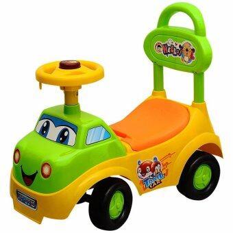 toyzoner รถขาไถ รุ่น 5515 มีเสียงดนตรี - เหลือง