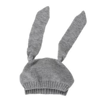 หมวกหูกระต่ายหนาวเด็ก ๆ สวมหมวกผ้าขนสัตว์ไหมพรมเด็กสำหรับเด็ก 0 แบบ 3 แกน Y (image 3)