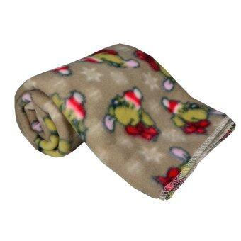 Kidscover ผ้าห่มเด็ก ลายหมี (สีน้ำตาล )