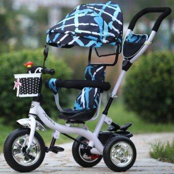 รถจักรยานสามล้อเด็ก สีสกายบลู