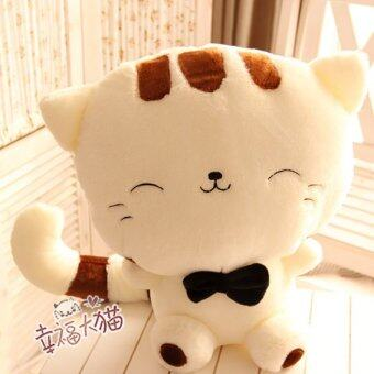 AliZ ตุ๊กตาแมว (สีขาว)