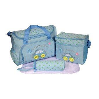 Kidsmile กระเป๋าสัมภาระคุณแม่ (สีฟ้า)