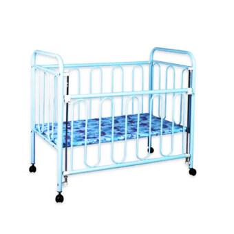 Tomodaji Baby เตียงเด็ก ขนาด 65x119x103.5 cm. สี ฟ้า