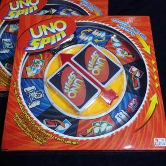 Toon World Uno Spin เกมส์ไพ่ อูโน่ แบบหมุน