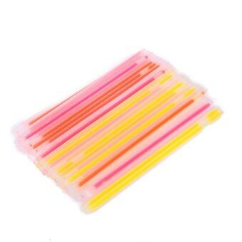 Harga 50pcs Party Bracelets Neon Light Glow Sticks - intl