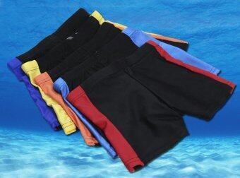 Riko กางเกงว่ายน้ำเด็กชาย (สีแดง)