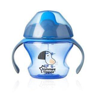 Tommee Tippee ถ้วยหัดดื่ม 5 ออนซ์ แบบมีที่จับ สีน้ำเงิน