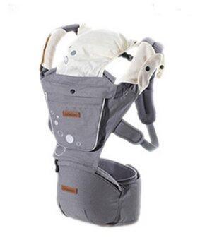 imama Premium เป้อุ้มเด็ก Hip Seat (สีเทา) Carrier Hip Seat(ดูเปรียบเทียบ)