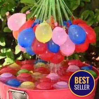 Minlane Kids Happy Baby Water Balloons ลูกโป่งน้ำหลากสี