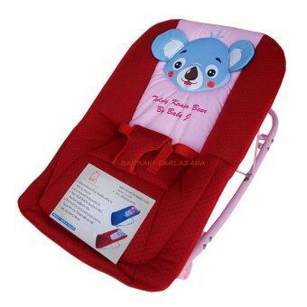 Baby Cradle เปลโยก รุ่น C232 ลายการ์ตูน Teddy Koala BearKoala Bear (สีแดง)