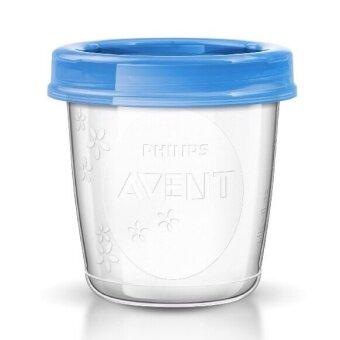 Avent ถ้วยเวียเก็บน้ำนม ขนาด 6 oz 1 แพ็ค 5 ใบ