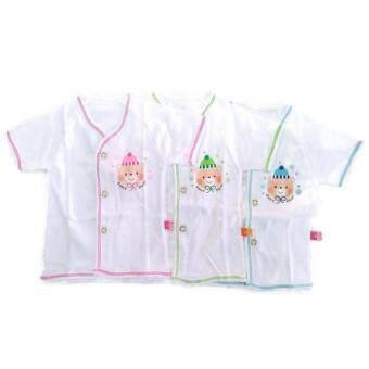 Babie Four เสื้อเด็กอ่อนผ้าคอตตอน 100% แพ็ค 3