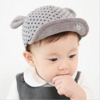 Harga Baby Boys Girls Newest Crown Polka Dot Hat Infant Newborn Caps - intl
