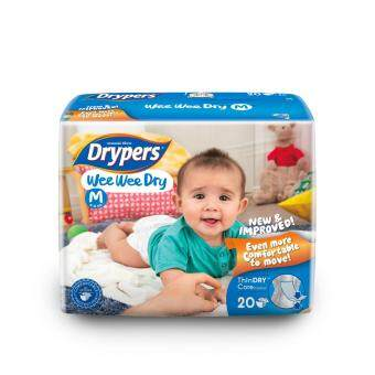 Drypers ผ้าอ้อมสำหรับเด็ก รุ่น WWD M 20 ชิ้น