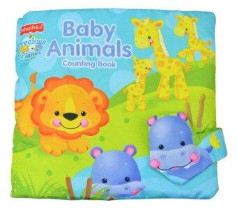 Smartbabyandkid หนังสือผ้า Fisher- Price Baby Animal