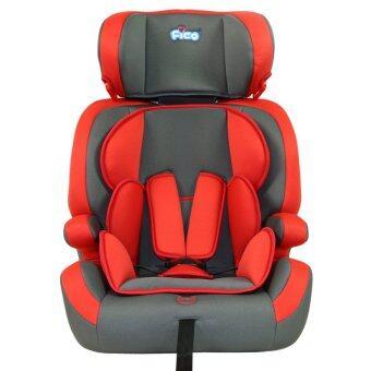 Fico คาร์ซีท รุ่น HB635 สีแดง/เทา เหมาะสำหรับเด็กอายุ 9 เดือน - 12 ปี สำเนา สำเนา