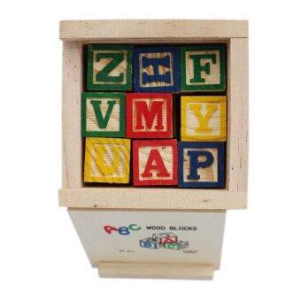 KIDSSHOP HATYAI ของเล่น เสริมทักษะ บล็อคไม้ ABC
