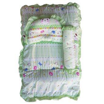 Baby Club ชุดที่นอนเด็กอ่อน ลายสัตว์น่ารัก - สีเขียว