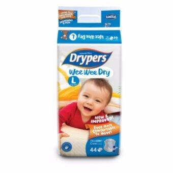 Drypers ผ้าอ้อมสำหรับเด็ก รุ่น WWD L 44 ชิ้น