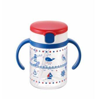 Richell แก้วหัดดูดกันสำลัก รุ่นน้ำไม่หก 200 ml