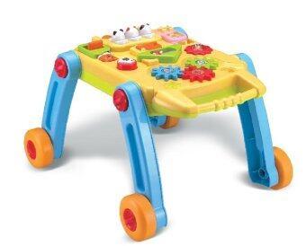 smartbabyandkid รถเข็นเด็กหัดเดินดนตรี+โต๊ะกิจกรรม - สีเหลือง
