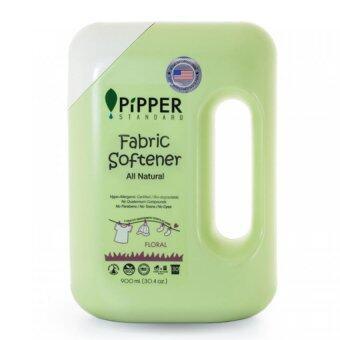 Pipper STANDARD ผลิตภัณฑ์ปรับผ้านุ่ม สูตรธรรมชาติ กลิ่น Floral ขนาด 900 มล. (1ขวด)
